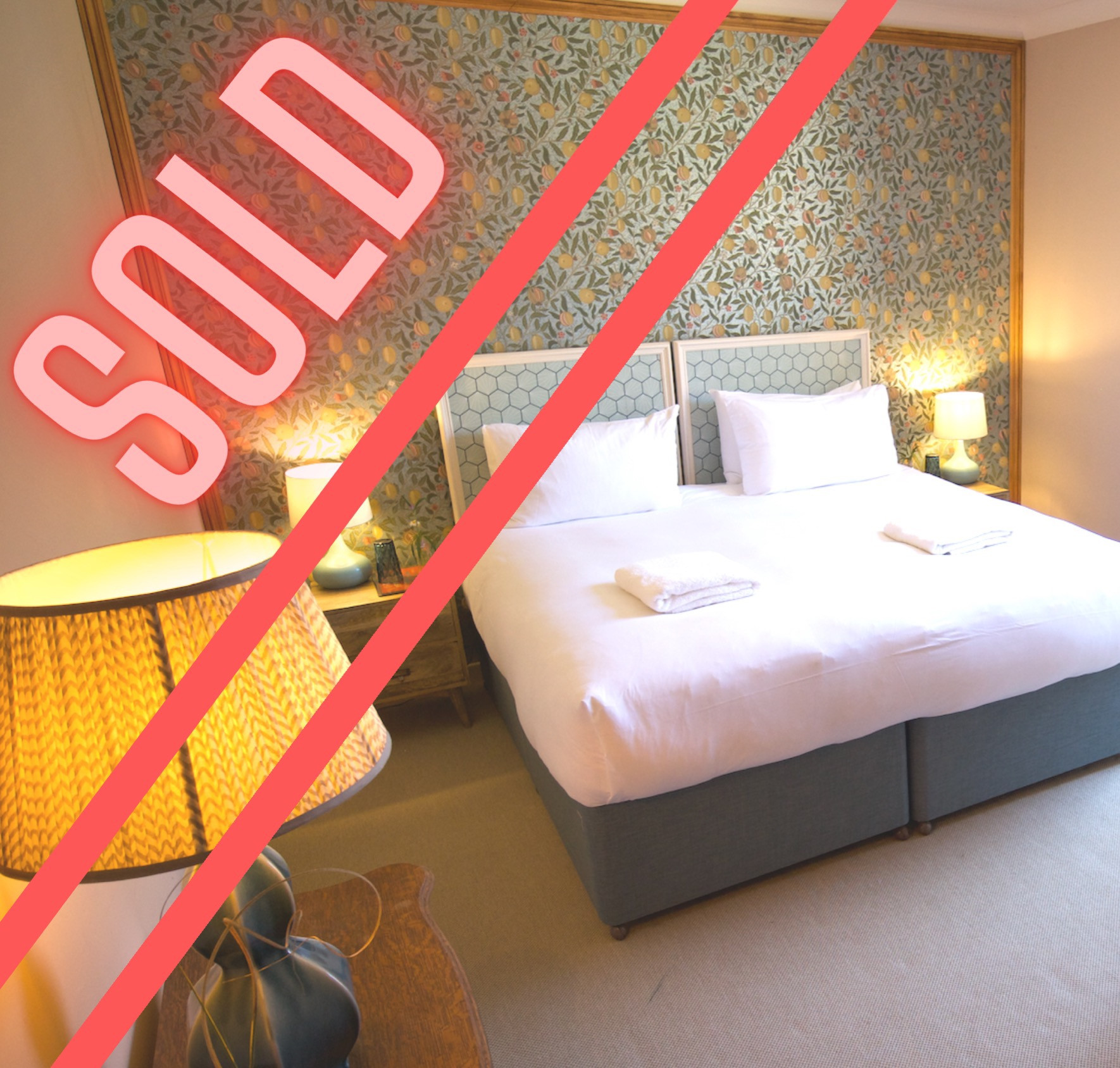 Room 1 - 1 Person - Double - Total £595