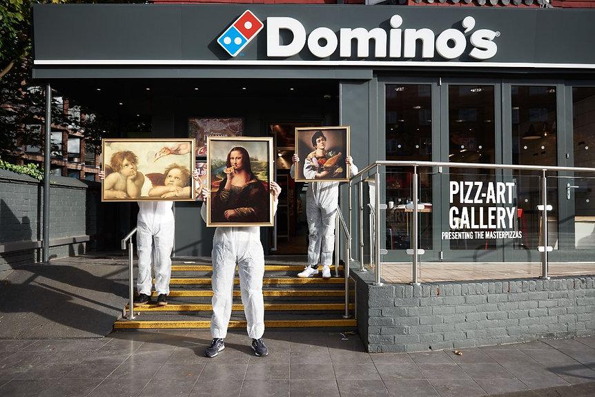 Master Pizza - Dominos - ArtistAnd