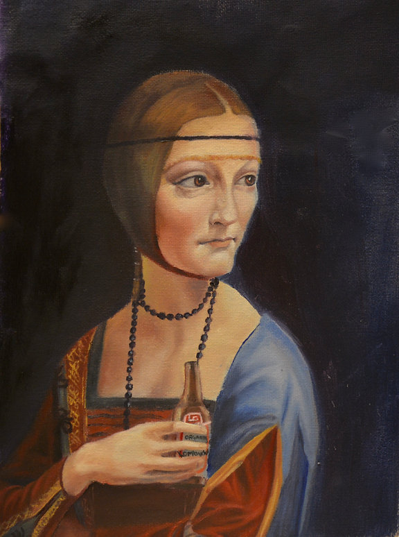 Kombucha-ArtistAnd-Oil Painting