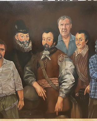 The Grand Tour oil painting