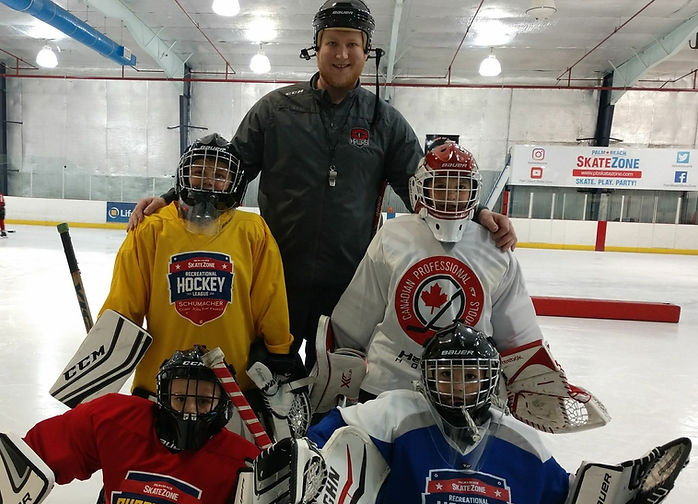 Ice Hockey Goalie Clinics