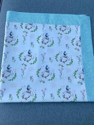 Gemima Puddleduck Lightweight Blanket.