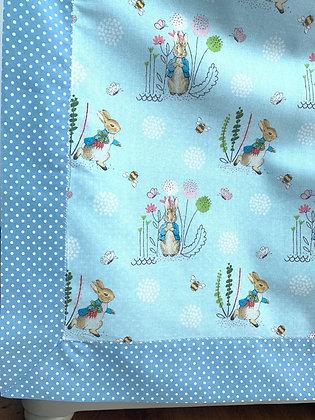 Peter Rabbit Lightweight Baby Blanket.