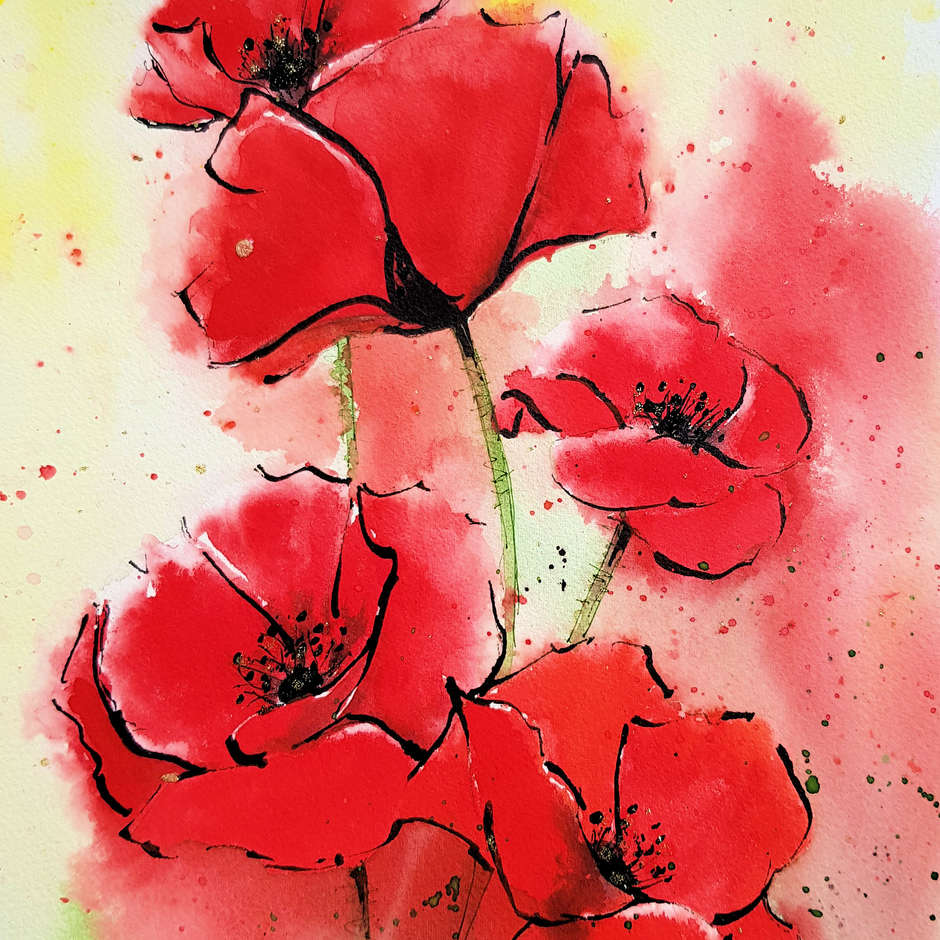 Love Poppies/Helen Rubinstein