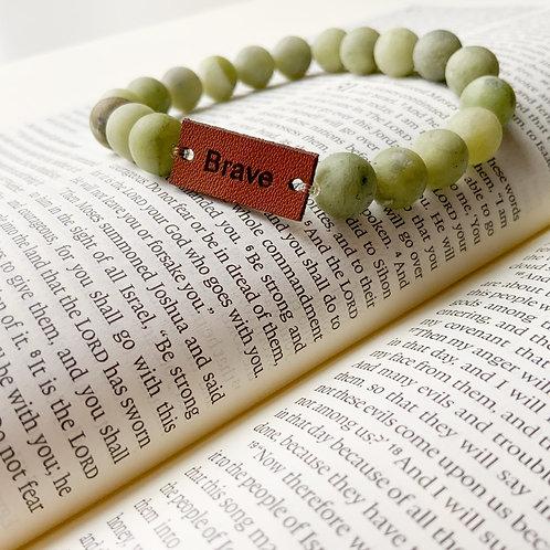 Inspirational Bracelet - Brave