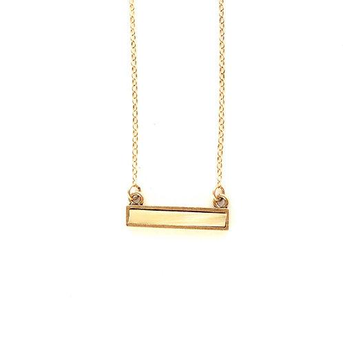 Horn Bar Necklace