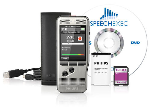 Philips DPM6700 Recorder and Player bundle