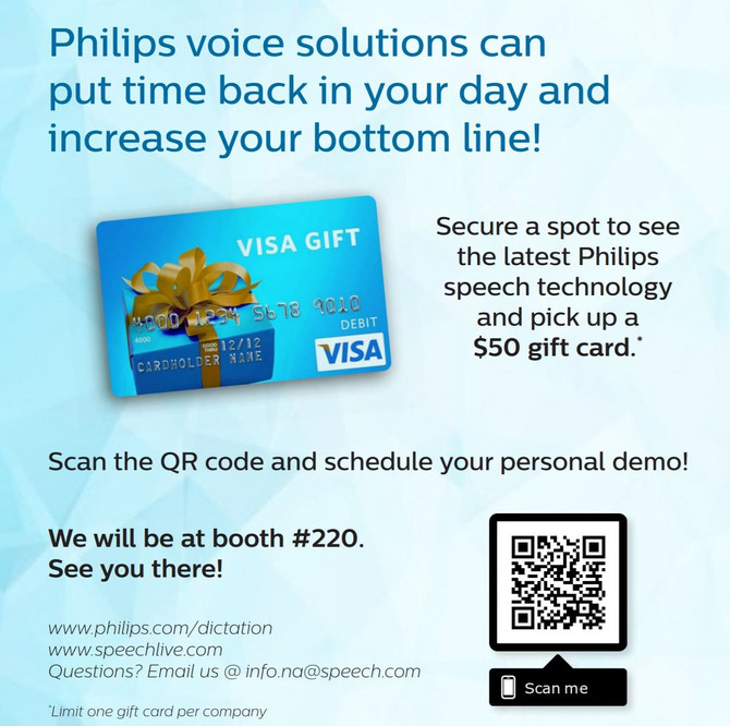 Join Philips at the ILTA conference 8/19-8/22 Orlando