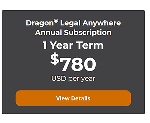 Dragon Legal Anywhere Cost