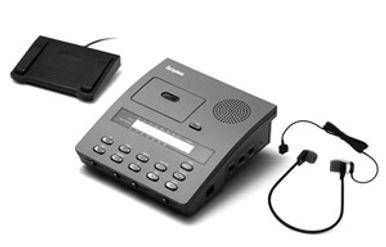cassette transcribers, Philips transcriber,