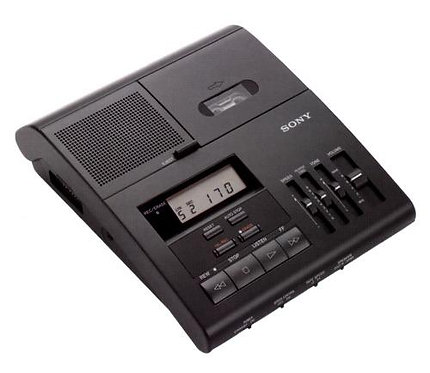 Sony BM850c Micro Cassette Transcriber/Dictator