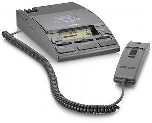 cassette dictation, Philips dictation, desktop dictators,