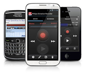 smart phone dictation software