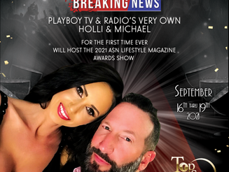 Playboy TV & Radio's Holli and Michael Named ASN Lifestyle Magazine Awards Hosts