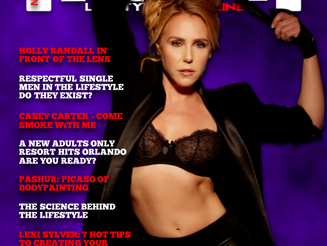 Erotic Photographer Holly Randall Featured on Cover of Award-Winning Magazine