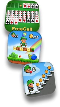 Games | FreeCell, Lep's World 3 and Lep's World Z