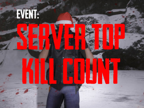 EVENT: PVP Server Top Kill Count