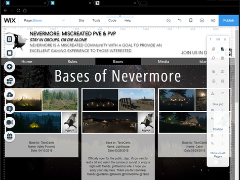Bases of Nevermore