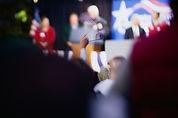 Verkiezingscampagne Speech
