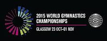 Logo for the 2015 World Gymnastics Championships