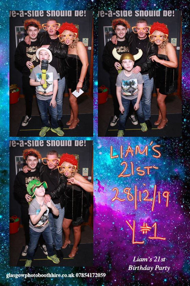 Liam's 21st Party, Goals West End, Clydebank, 28th Dec 2019