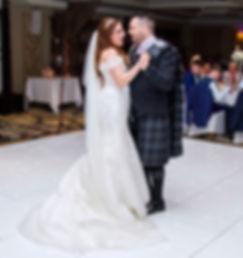 Bride & Groom, 1st Dance, Dalziel Park Hotel, Motherwell