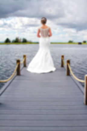 The Bride Looking Out Across the Lake, The Vu, Bathgate