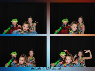 Baighley's 12th Birthday Party, The Burroughs, Cumbernauld 5/5/19