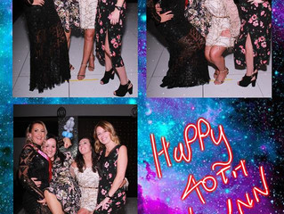 Lynn's 40th Birthday Party, Alea Casino, Glasgow, 5th Jan 2019
