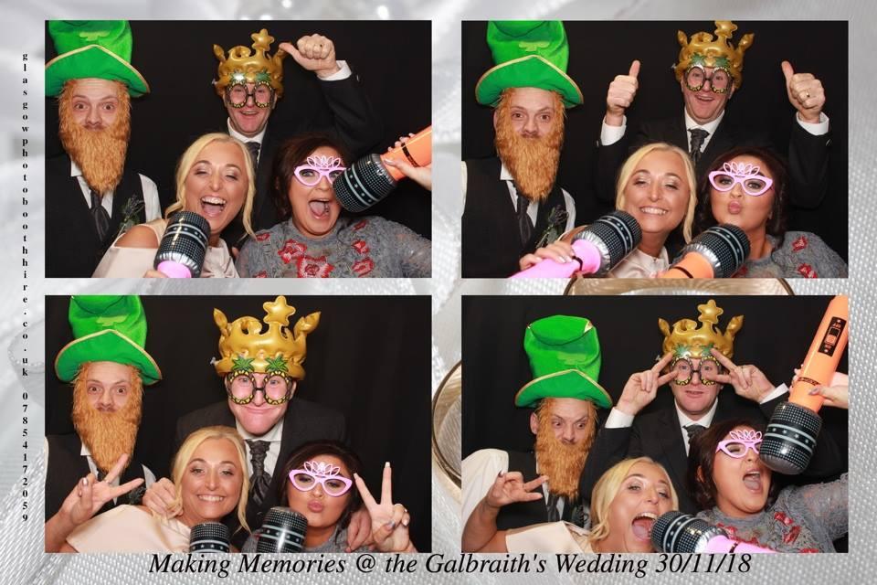 The Wedding of Mr & Mrs Galbraith