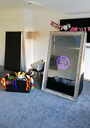A Photo Of The Magic Mirror Photo Booth