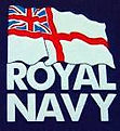 Logo for the Royal Navy