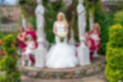 Bride & Bridesmaids, Lynnhurst Hotel, Johnstone
