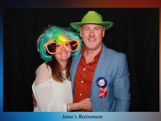 Jame's Retirement Party at the Rhodrich Dru Bar, Glasgow 27th April, 2019
