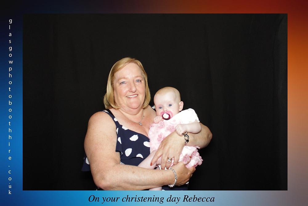 Rebecca's Christening, Singers Bowling Club, Clydebank 28/7/19
