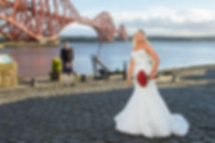 Fiona & Tony at The Forth Bridge