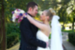 Bride & Groom, Look Into Each Others Eyes, Western House Hotel