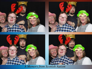 Making Memories With Scottish Autism, Glencairn Club 29/11/18