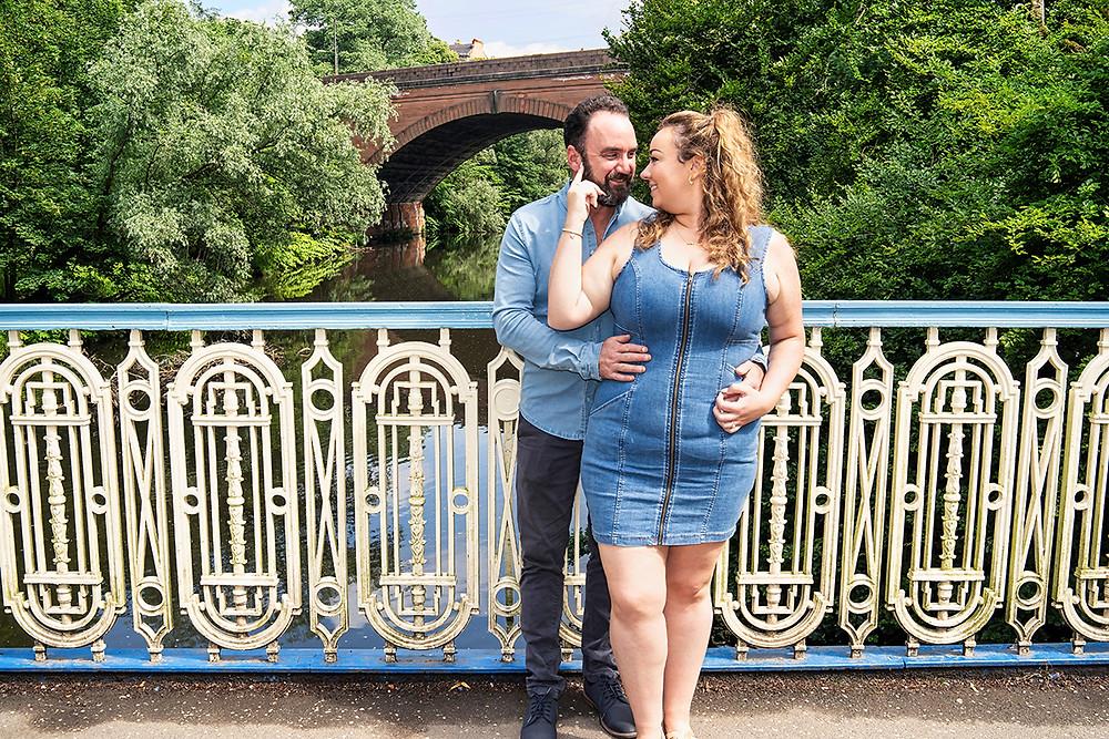The Pre Wedding Shoot of Lorna & David, The Botanic Gardens, Glasgow. Mon 12th July 2021
