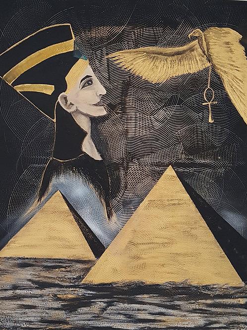 """Картина """"Египетская сила"""""""