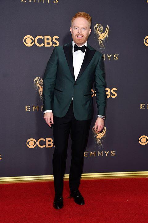 Jesse Tyler Ferguson in an emerald green