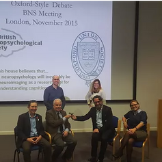 ohn Marshall debate hosted by the last annual meeting of the British Neuropsychological Society in London. The motion debated was 'Human lesion neuropsychology will be inevitably replaced by neuroimaging as a research tool for understanding cognition'