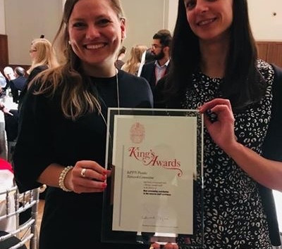 King's Award for Most Outstanding Contribution to the Research Staff Experience