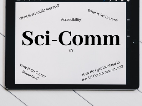 Back to My Roots: The Importance of Sci-Comm & Accessibility