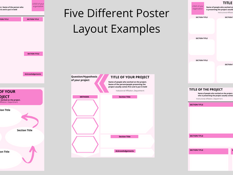 GlamScience Guide to Poster Design