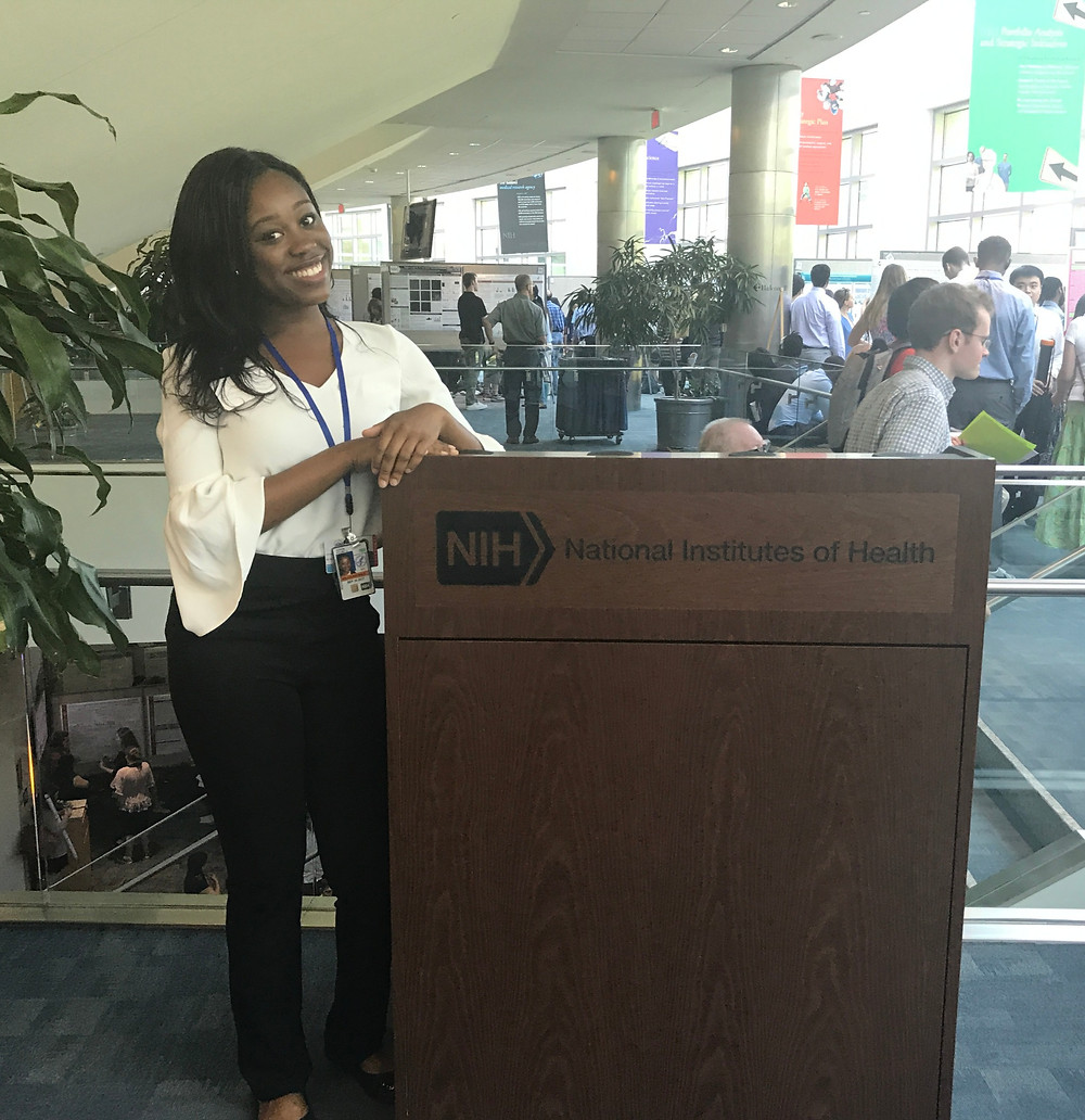 Ifeoma Azinge at the National Institutes of Health