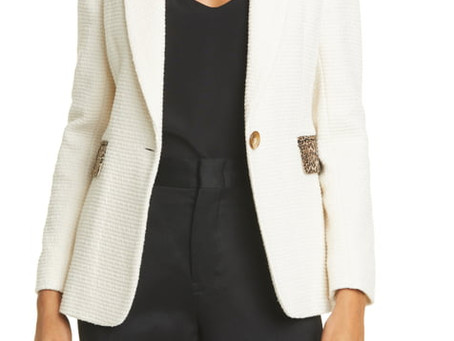 All Black + Colorful Blazer = Perfect Outfit