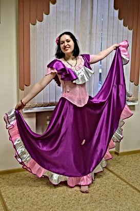 Цыганские танцы.Елена Дружнова(Хеста Хар