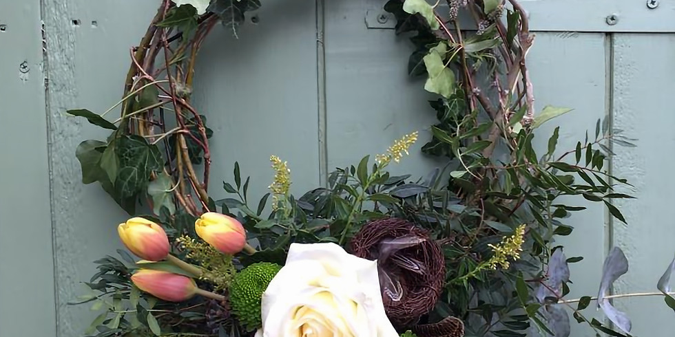 Spring Wreath Workshop with Jenny from The Flower Barn