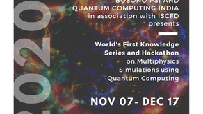 The ISCFD teams up with BosonQ Psi and Quantum Computing India